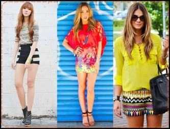 modelos de camisas coloridas primavera verão