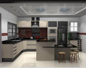 projetos de cozinhas planejadas com ilha central