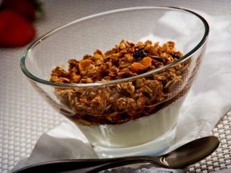 receita de granola com iogurte