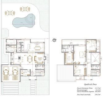tipos de planta de casas com 3 quartos grátis para imprimir