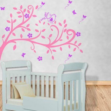 adesivo de parede quarto infantil de menina