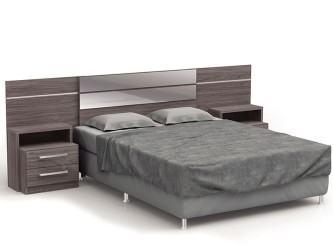 belas cabeceira de cama box casal com criado mudo