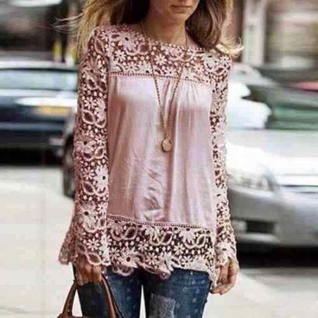 Imagem 7- Essa blusa é muito delicada e romântica ao mesmo tempo c1e36d4a83e