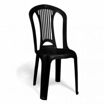 cadeiras de plástico tramontina preta