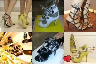 coleção de sandália gladiadora rafaela booz