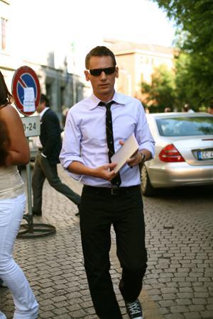 como usar gravata sem paletó