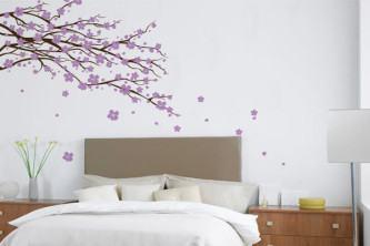 dicas de adesivos de parede para quarto de casal