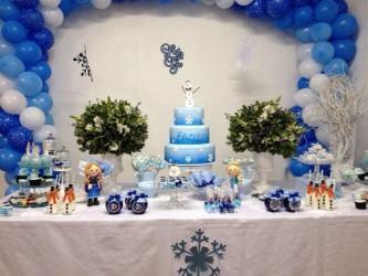 dicas de decoração aniversário infantil frozen