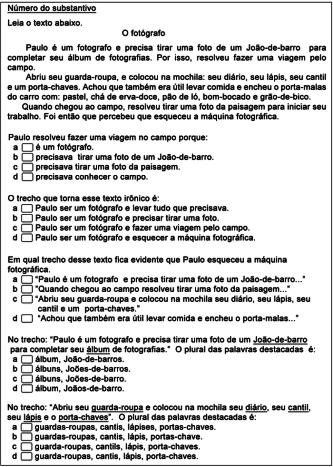 exercícios substantivos para 5 ano para imprimir