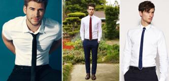 gravata sem paletó