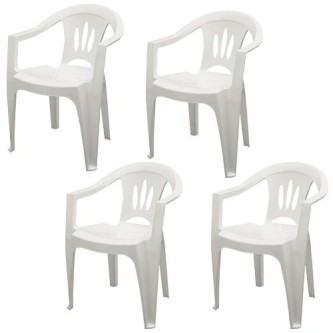 modelos de cadeiras de plástico tramontina
