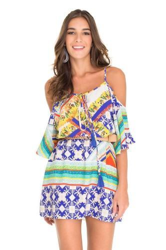 modelos de vestidos com ombro vazado