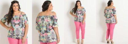 blusinhas plus size de verão -2