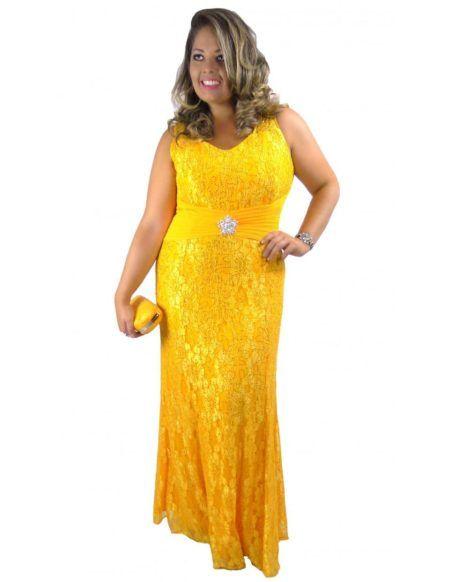 614a68ec1 Vestidos longos de renda fabulosos e perfeitos para festas e ...