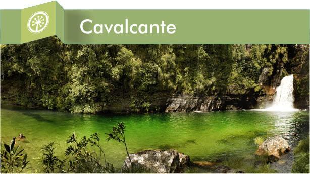 Cidade de Cavalcante Goiás turismo ecológico, belas cachoeiras