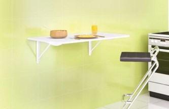 mesa de parede dobrável
