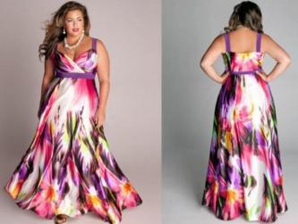 vestidos longos para gordas