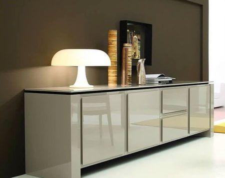 Modernos aparadores para sala de estar lindos para decorar bela feliz - Aparadores modernos para comedor ...