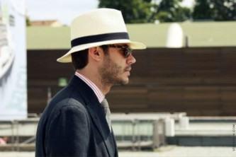 chapéu panamá masculino