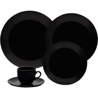 comprar aparelho de jantar preto