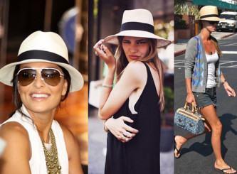 fotos de chapéu panamá feminino