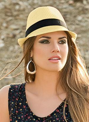 lindos chapéu panamá feminino