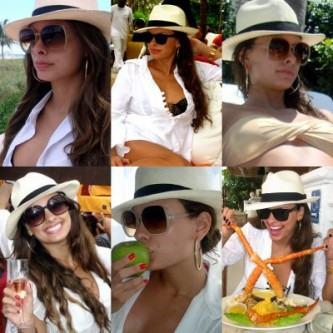 modelos de chapéu panamá feminino