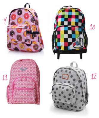 modelos de mochila escolar de costas