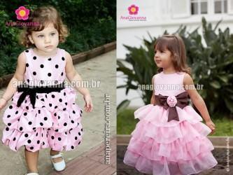 modelos de vestidos para festa de aniversario infantil