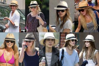 modernos chapéu panamá feminino