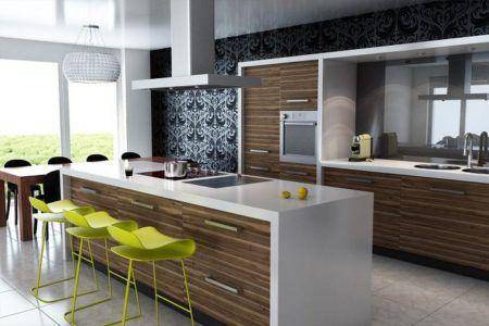 cozinhas modernas bancadas e armarios