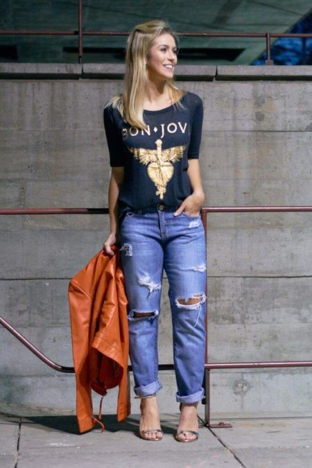 4362582d07 Como rasgar a calça jeans RASGADA no joelho e ficar de vez na moda ...