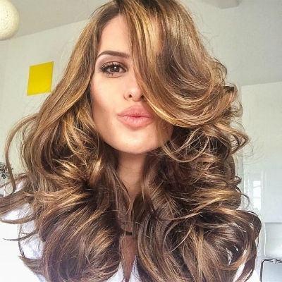 Cabelos bronde hair longos