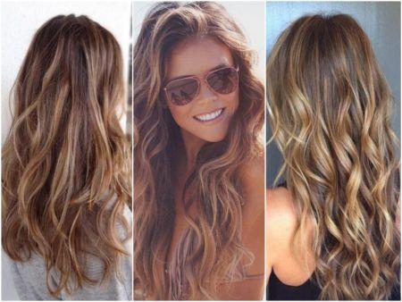Cabelos bronde hair luzes