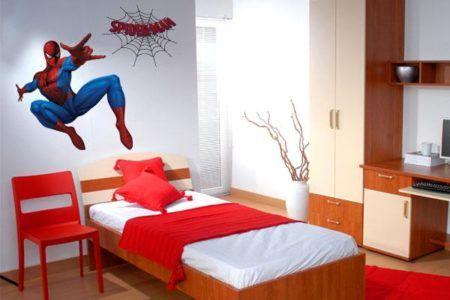 adesivo para quarto infantil do homem aranha