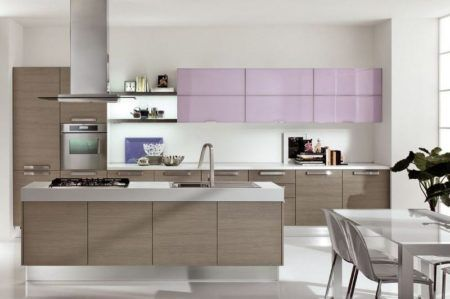 armarios de cozinha com ilha