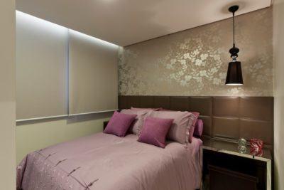 Decore com adesivos de parede para quarto de casal bela - Reformas casas pequenas ...