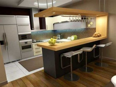 piso cozinha ilha
