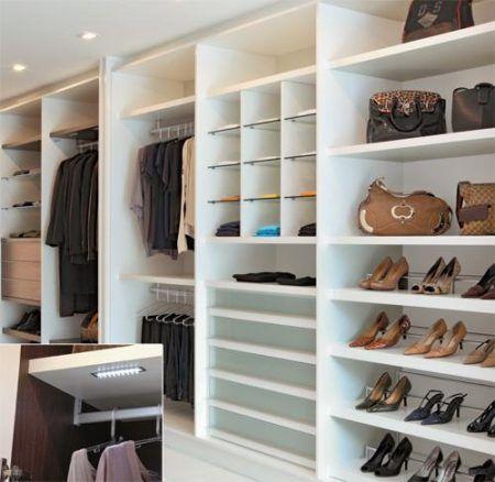 closets casal para roupas e calcados
