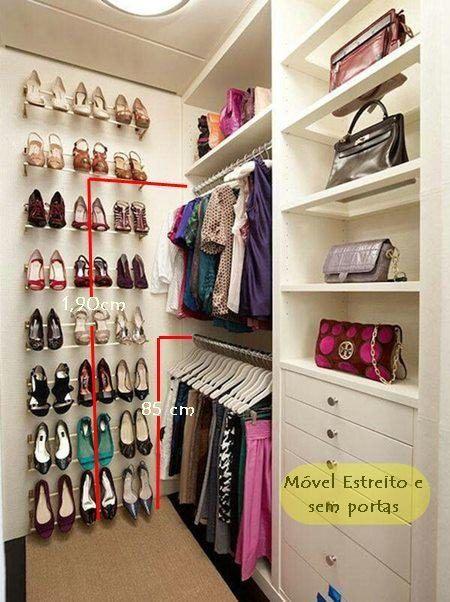 closets pequenos casal parte da mulher