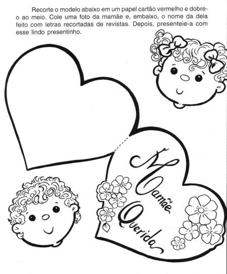 dica de cartão para o dia das mães artesanal