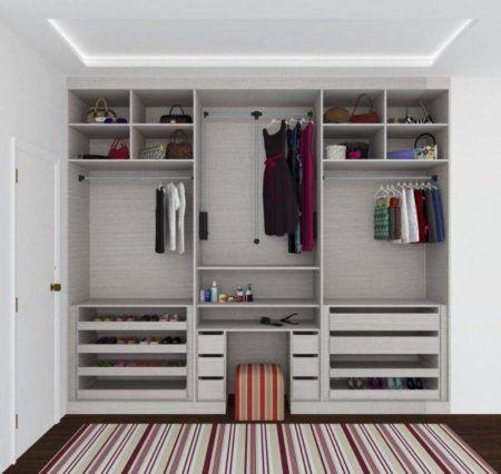 fotos de closets de casal pequenos