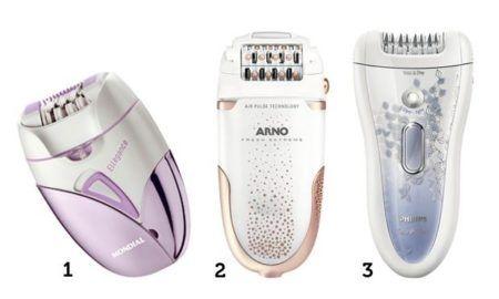 modelos de aparelhos depilatorios femininos