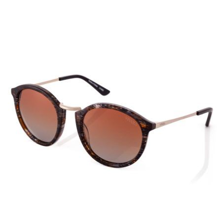 oculos de sol femininos redondo acetato marrom