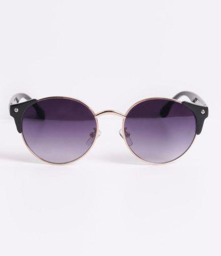 oculos de sol femininos redondo lente roxa