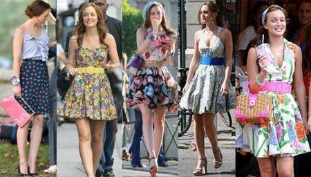 saias estampadas da moda looks para se inspirar