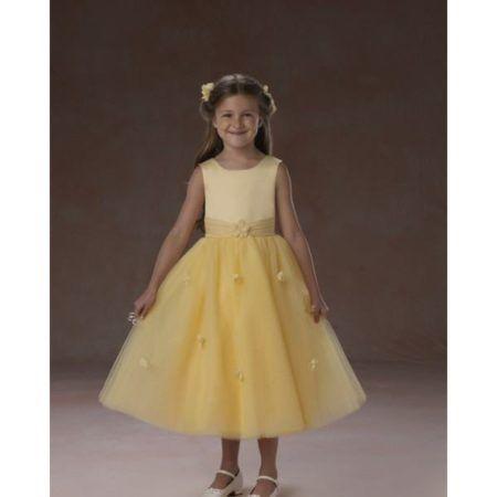 vestidos amarelos para dama de honra