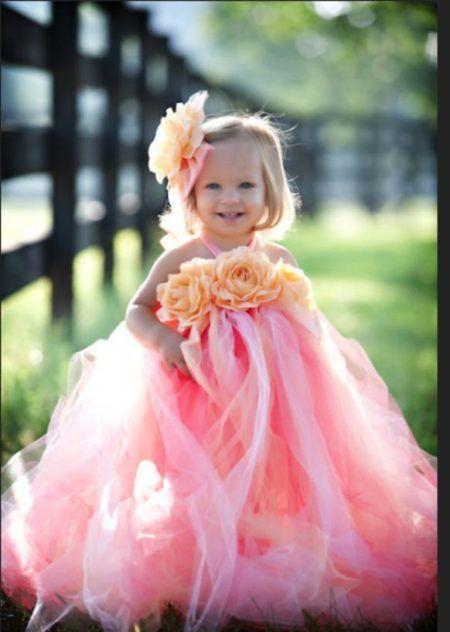 vestidos para dama de honra com flores