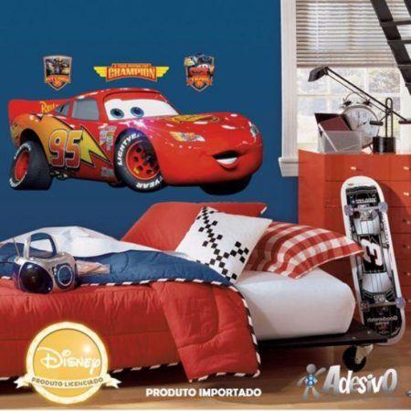 adesivos para quarto infantil de menino dos carros