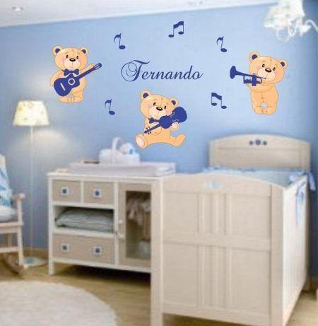 adesivos personalizados para quarto infantil de menino